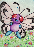 012 # Butterfree by Miz-Miu