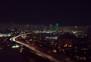 Dallas Skyline by mbennion76