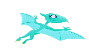 Shiny Pteranodon Flying Vector by DigiPonyTheDigimon