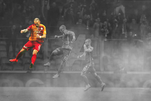 Wesley Sneijder by TheNDR