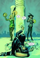 Zatanna v Enchantress (Marvel) + Enchantress (DC) by Nick-Perks