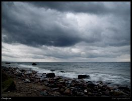 Cloudy sea IV by Zair-Ugru-nad