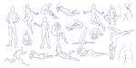 Varied Tiny Poses - F2U by ShadowInkWarrior