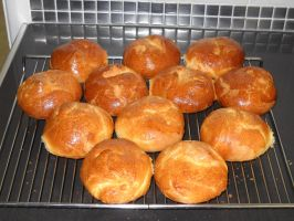 Brioche Rolls by Bisected8