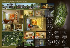 My diplome project_layout by Ultrarender