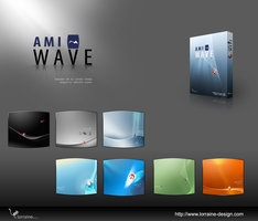 AmiWave wallpaper set by cybo-amiga