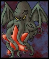 Cthulhu - redstar by FX-Moonster