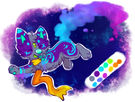 Space Kitty by Spaggled