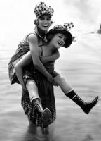Gloria Swanson and Phyllis Haver by NJDVINTAGE