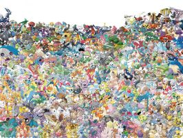 Pokemon Collection by InkomingVirus