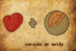 corazon de melon by sloopsalvador