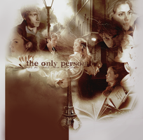 The only person by loversfinalbreath