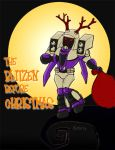 The Blitzen Before Christmas by eabevella