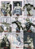 Marvel: 2012 Greatest Heroes Sketch Cards 09 by RichardCox