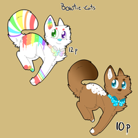 Bowtie-cats TAKEN by MiineAdopts
