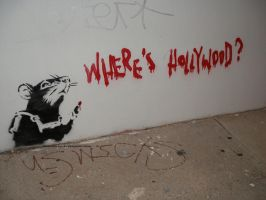 Banksy's Rat 02. by GermanCityGirl
