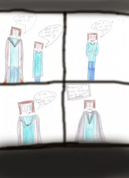 Dad Can I Try On Your Cape Minecraft by 02Yakols-Firestar