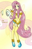 MLP_Fluttershy_HumanVersion-Anime by 207DaNiElA