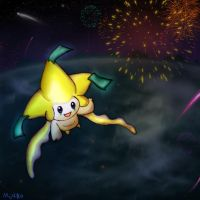 Jirachi's New Year Wish by MujakiKid
