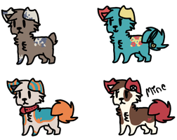. : Puppy Adopts : . by blueberry-tea