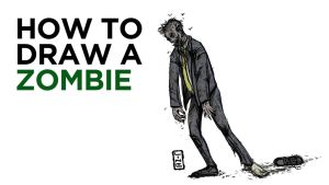 I made a How to draw a zombie video by LineDetail