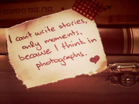 I can't write stories... by HQheart