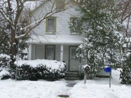 Winter - Snowy Home by Adreos