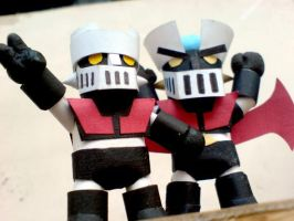Mazinger Bro by PaperBot