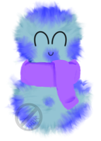 Blueberry Is Fluffy! by Randomness-By-Korki