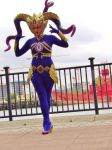 Vel'koz Cosplay MCM Expo October 2015 by SaviSoren