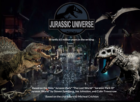 Jurassic Universe Fanfic Poster (2) by JPLover764