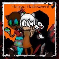 .::Team Elements - Happy Halloween!::. by LollipoppopXD