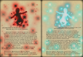 Magical Children Pages by Notsalony