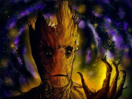 Groot - Guardians of the Galaxy by EpicLoop