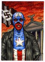 Red Skull -Old Man Logan- s.c. by silentsketcher