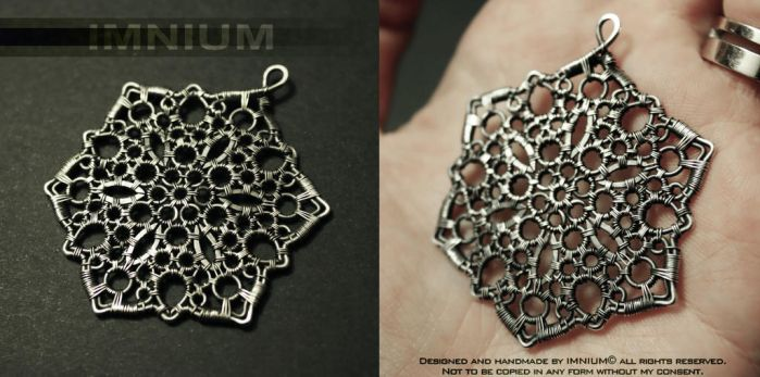 'Paska cipka' (lace from island Pag) by IMNIUM