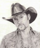 Tim Mcgraw by ArtByBryanna