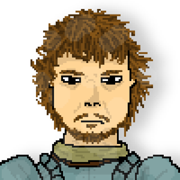 Theon Greyjoy Pixel Art by onlo
