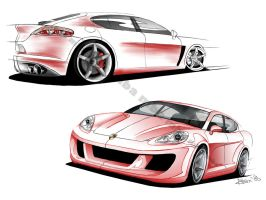 Porsche Panamera by the-mba