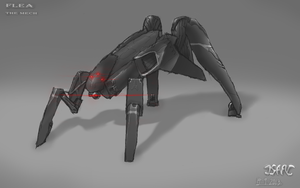 FLEA the jumping mech(black by nobody00000000