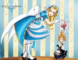 Ace of Hearts - Curiouser and Curiouser by For-He-who-is-grand