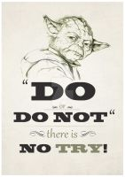 Yoda Quote by ludovitNASTISIN