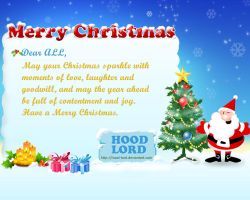 Merry Christmas by hood-lord