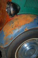 old rusty car by jrbamberg