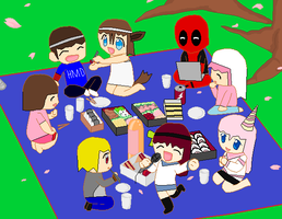 A Little Get Together by V1EWT1FUL