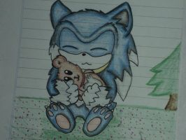 sonic werehog :3 by simeyy