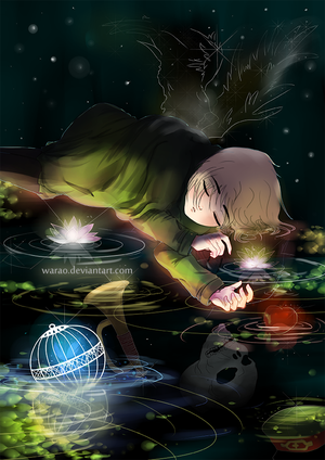 Saeki Lying On Rivercopy3 by Warao