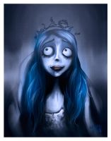 Emily Corpse Bride by gerky-art