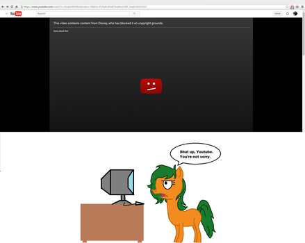 I hate YouTube sometimes by TheArtistAlan
