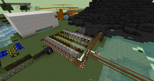 Automatic melon farm (can also work with pumpkins) by ThatPonyUknow